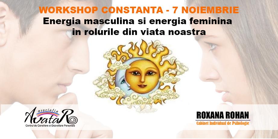 POTI FI SOARE, POTI FI LUNA – Workshop Constanta – 7 Noiembrie!